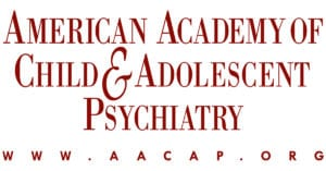 Logo for the American Academy of Child and Adolescent Psychiatry