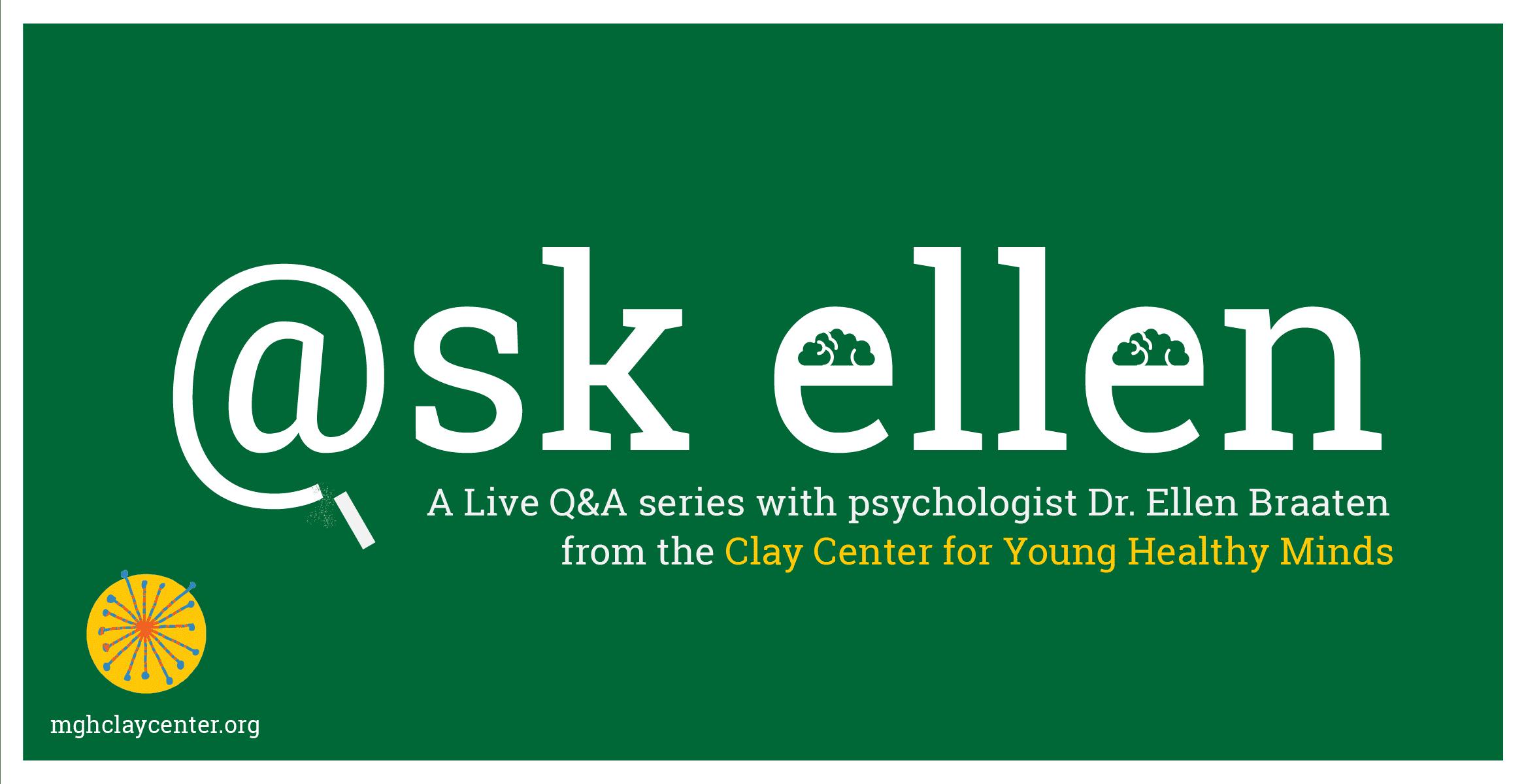 Ask Ellen - Live Q&A