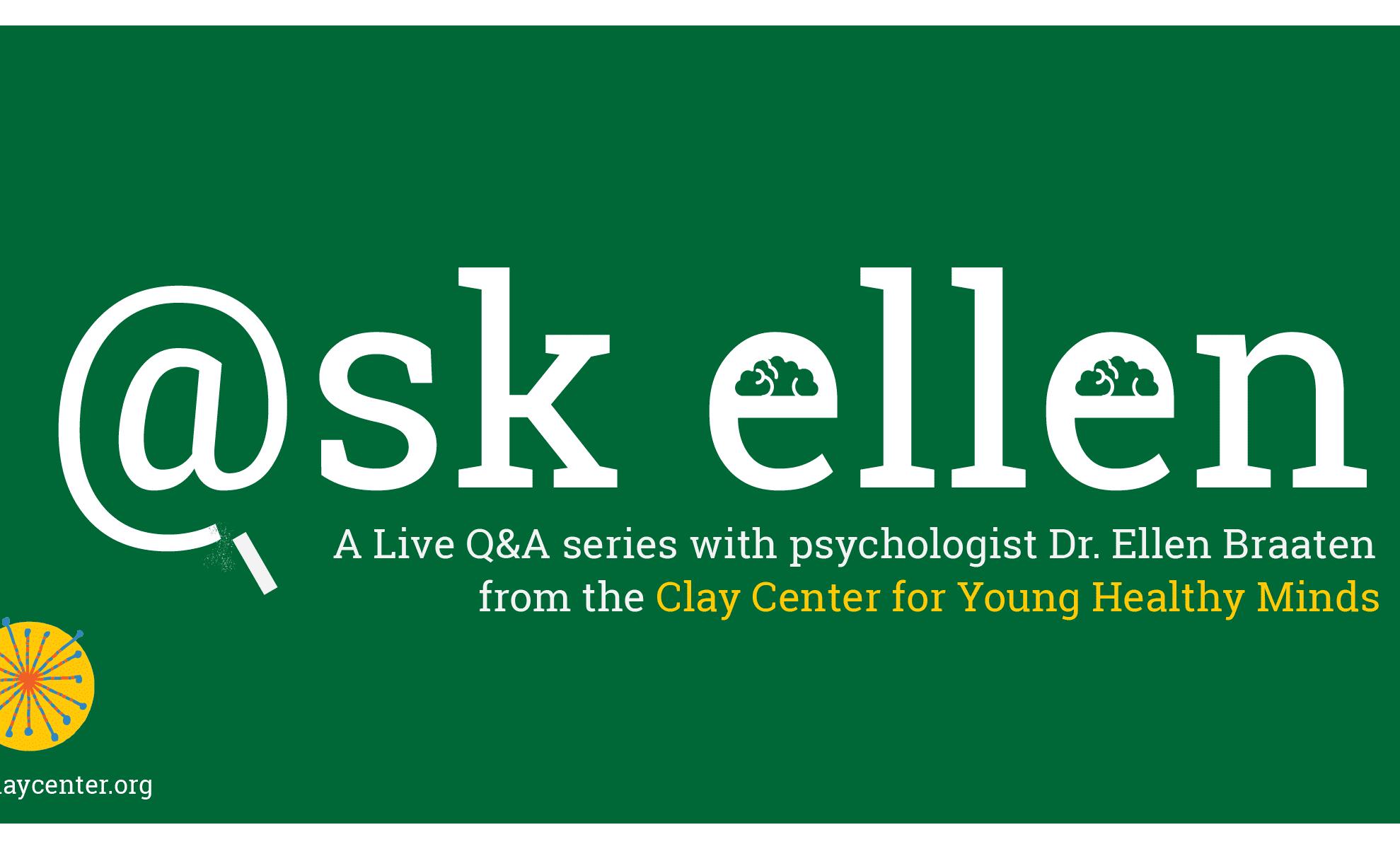 Ask Ellen Q&A