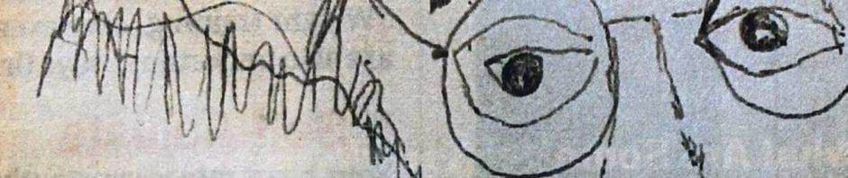Mark Vonnegut's self-portrait - Bipolar Disorder and the Arts