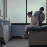 Screenshot of public YouTube official trailer for Netflix's To the Bone - Doctor's Office