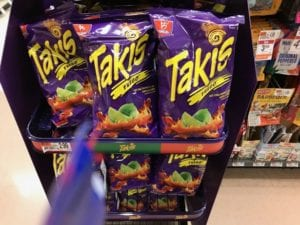 Takis chips at a store